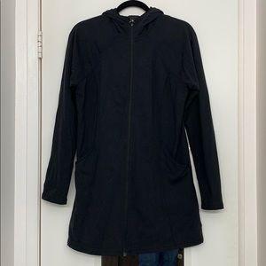 Athleta Black Active Jacket with Hood Size Medium